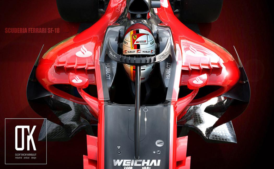 2017法拉利F1赛车概念设计