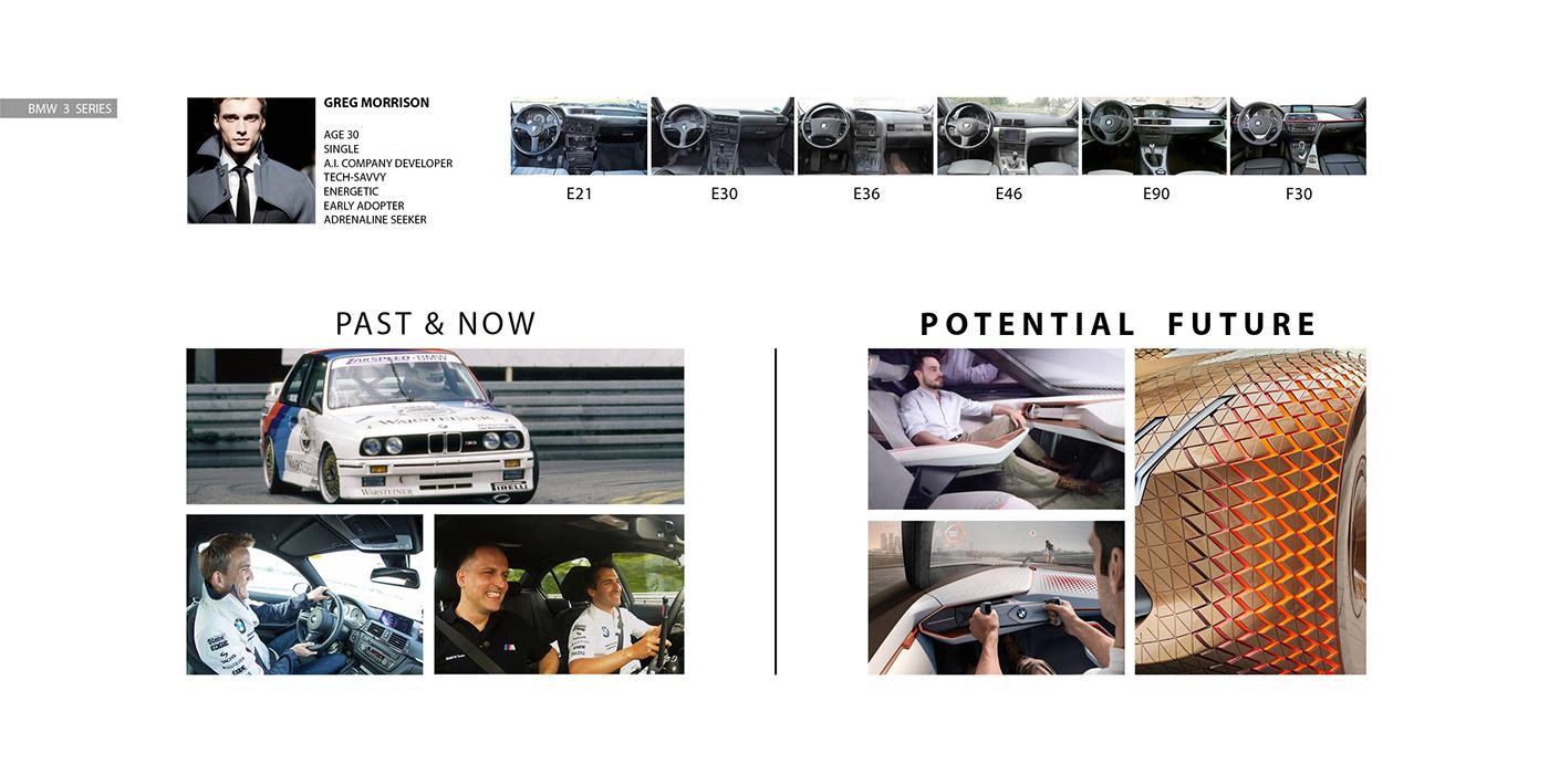 2030宝马汽车内饰概念设计