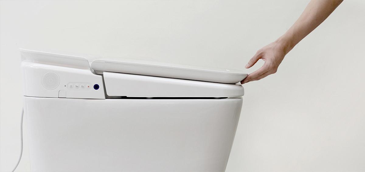 更卫生的PLAT马桶设计
