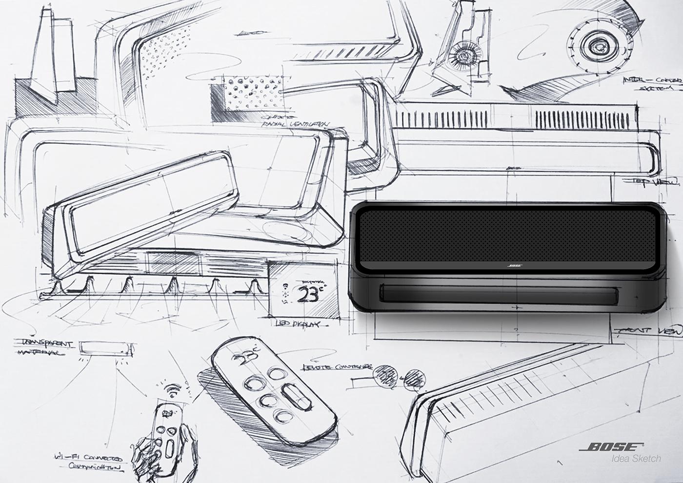 健康节能的Bose空调设计