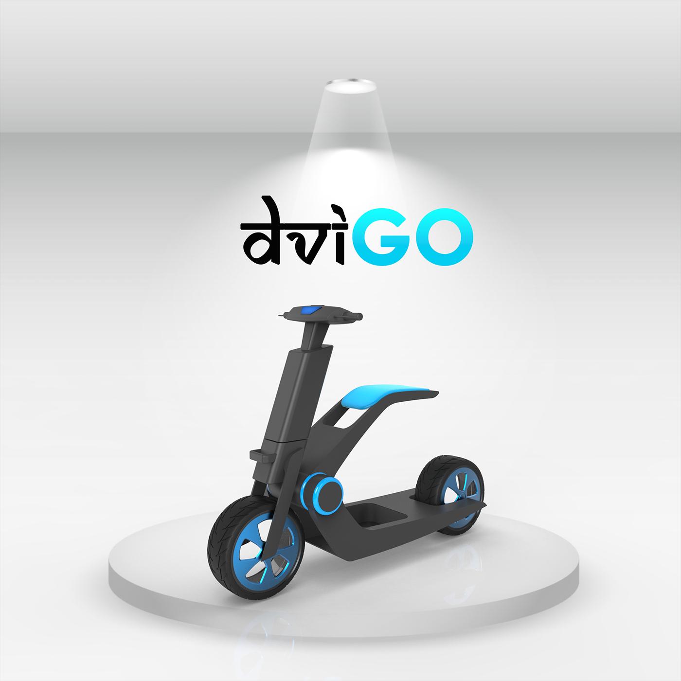 Dvigo电动助力车创意设计