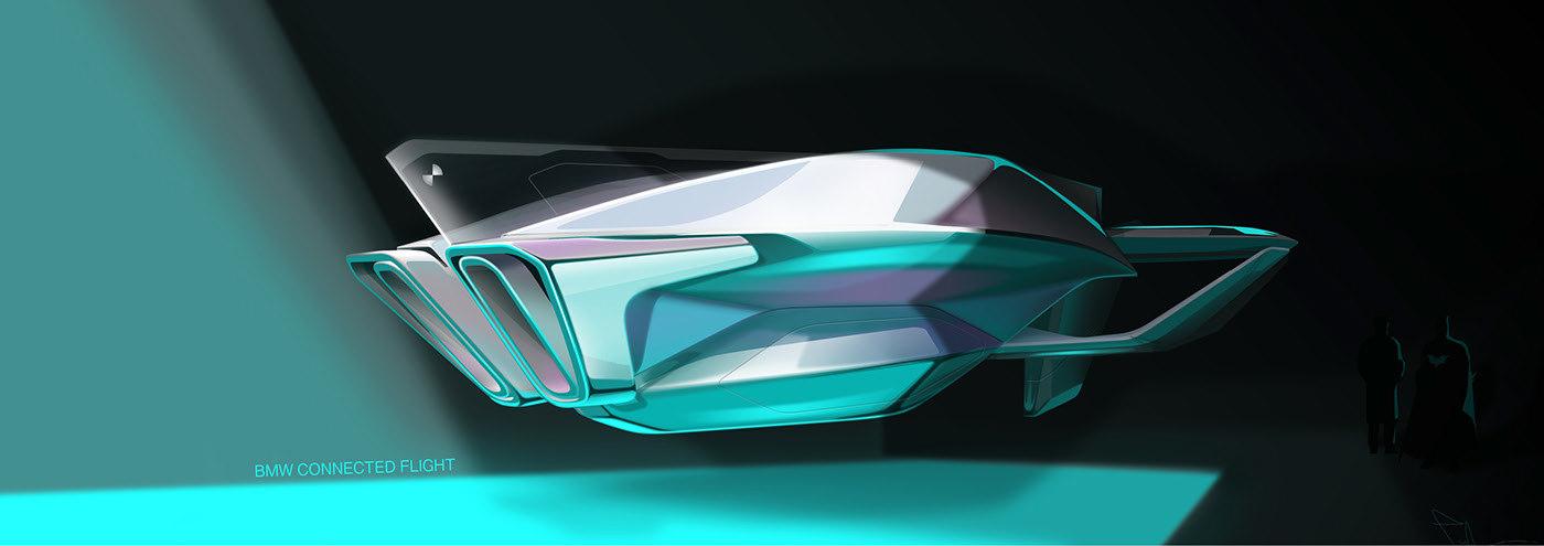 宝马混合动力飞船2040概念设计