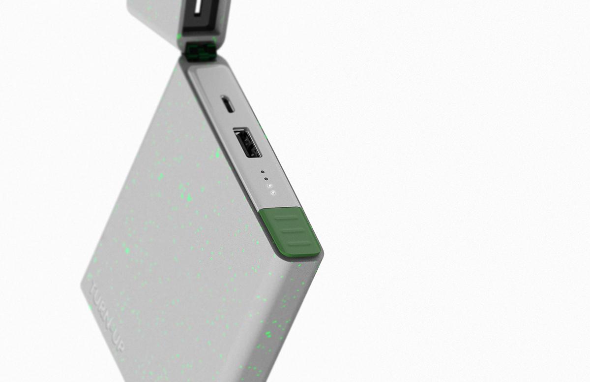 Turn-up充电打火机创意设计