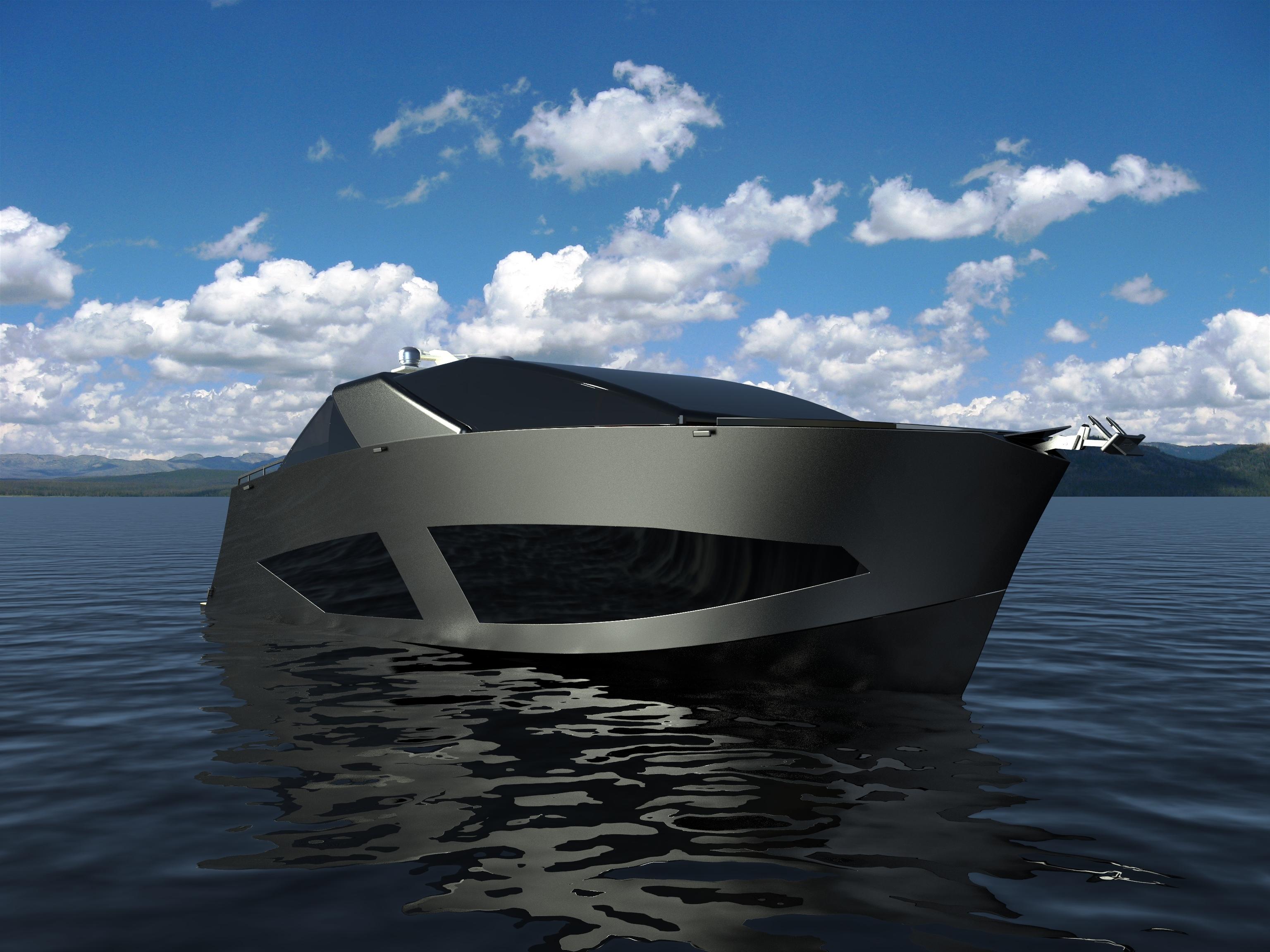 水上利器November游艇造型设计
