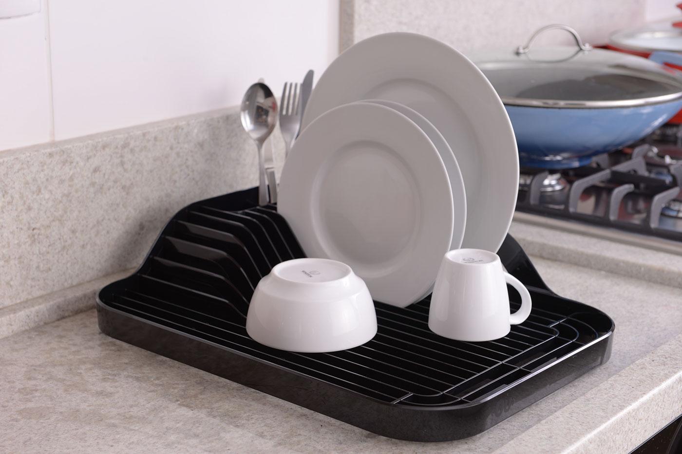 栅格洗碗晾干盆设计