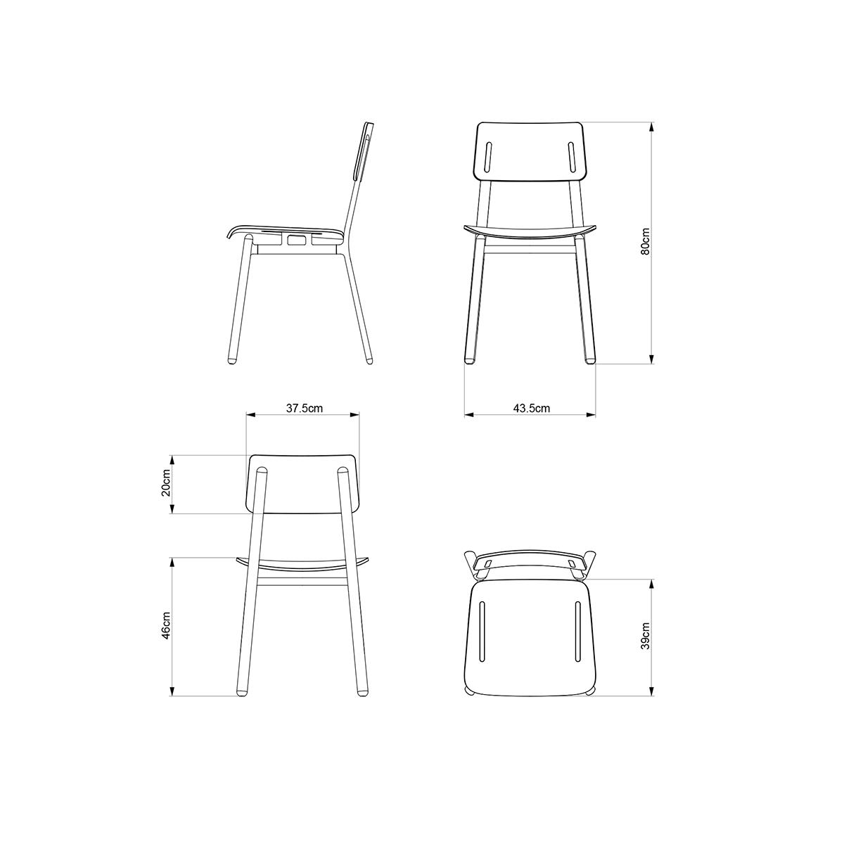 凳子制作图纸