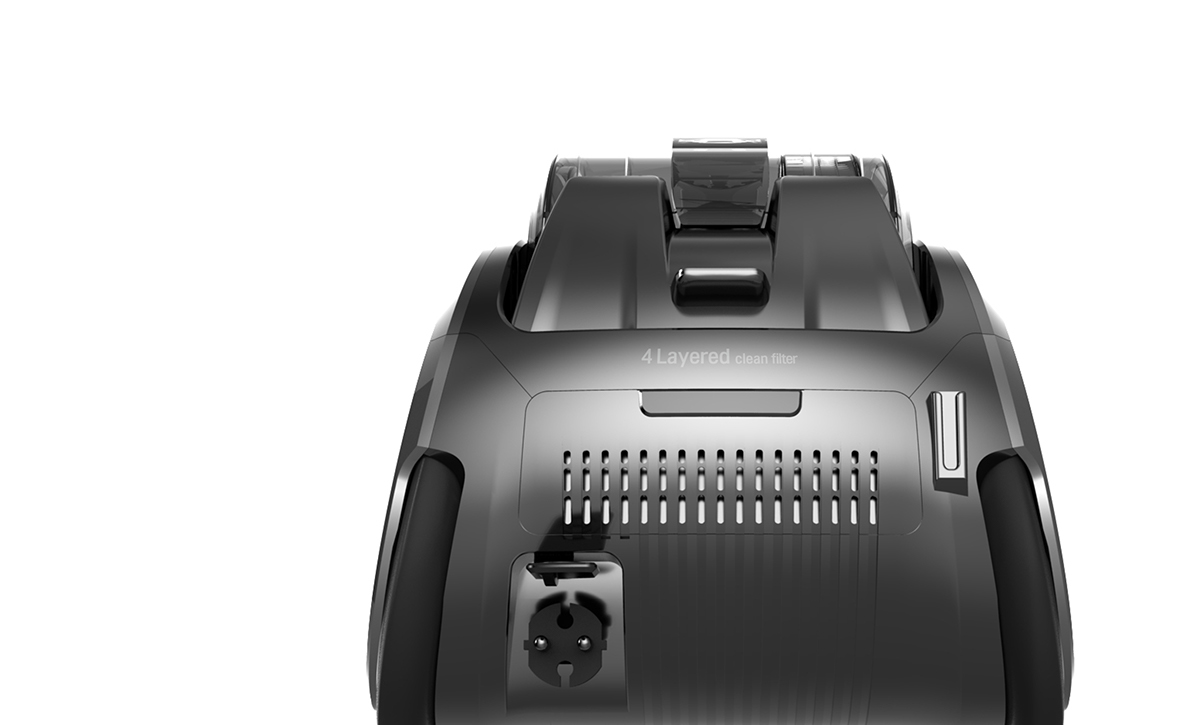 家用LG尘袋式吸尘器设计