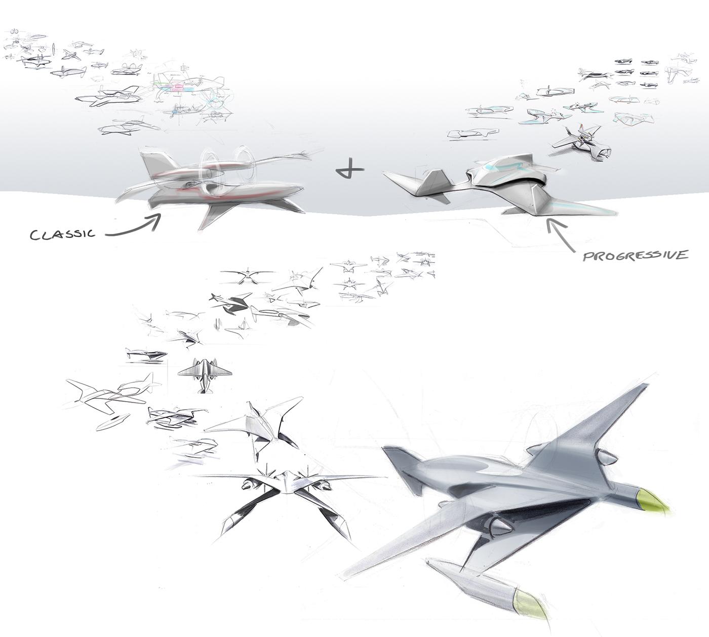 未来的水上运输飞机概念设计