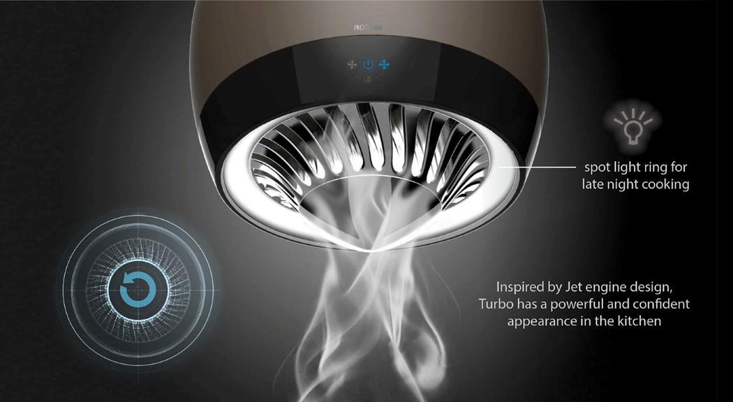 油烟杀手涡轮油烟机设计