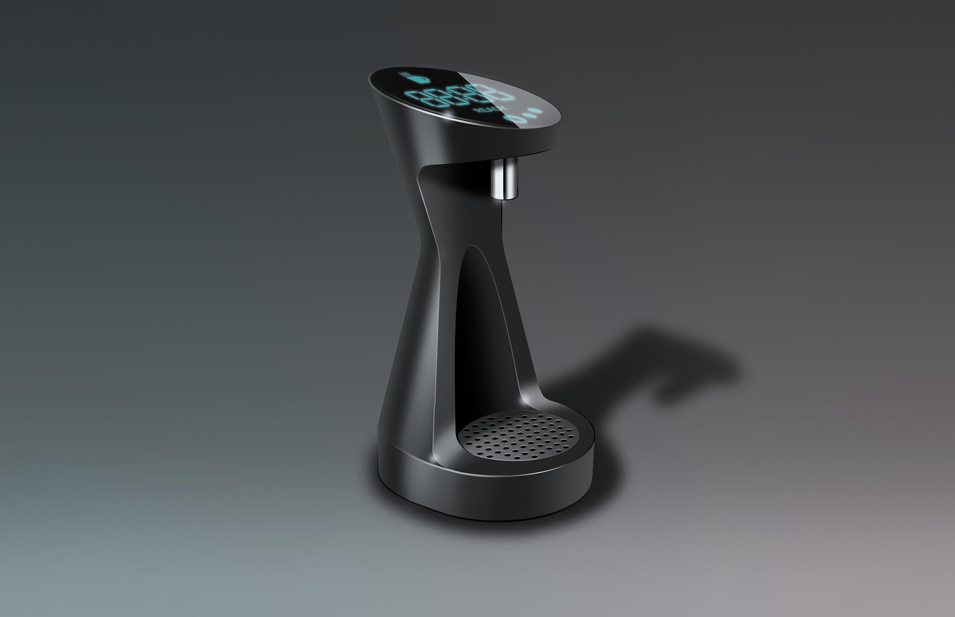 Theo Bonner特色咖啡机概念设计