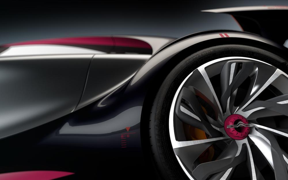 雪铁龙电动超跑概念设计