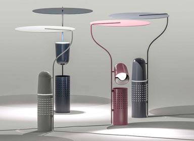 独具造型台灯设计