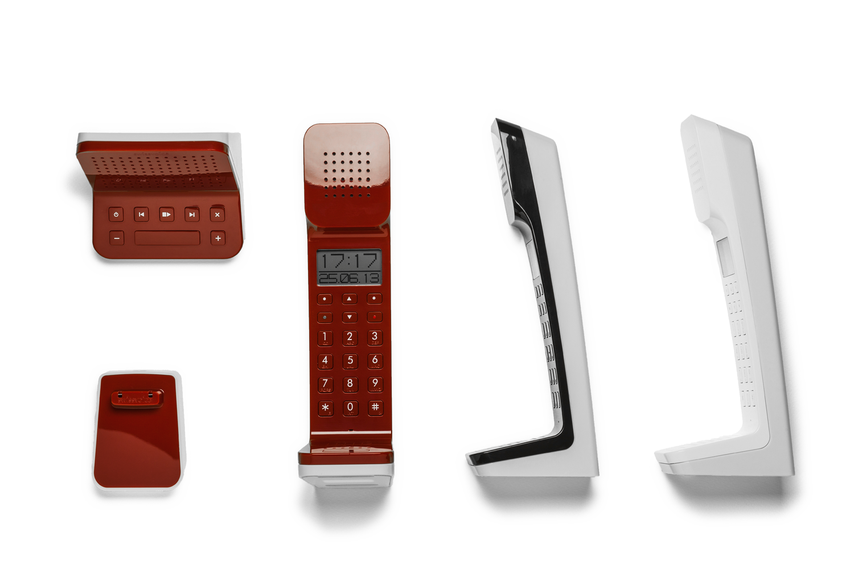 现代风家庭电话机
