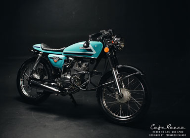 CG250复古摩托车赛车设计