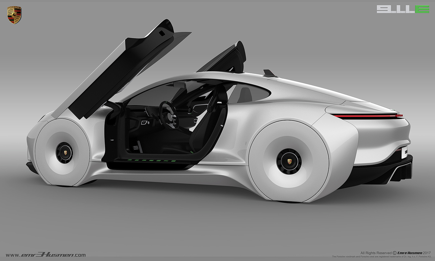 2020保时捷未来汽车设计