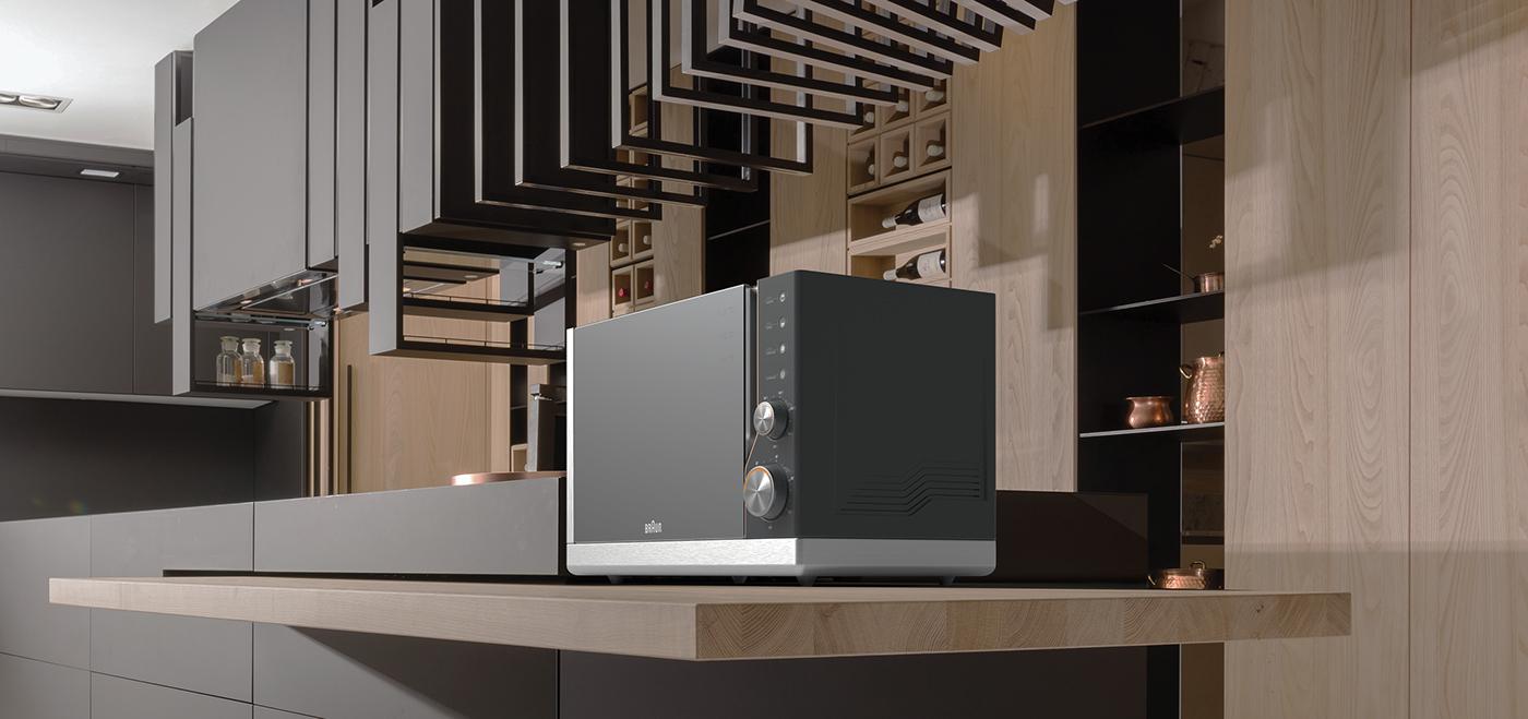 博朗烤箱创意设计