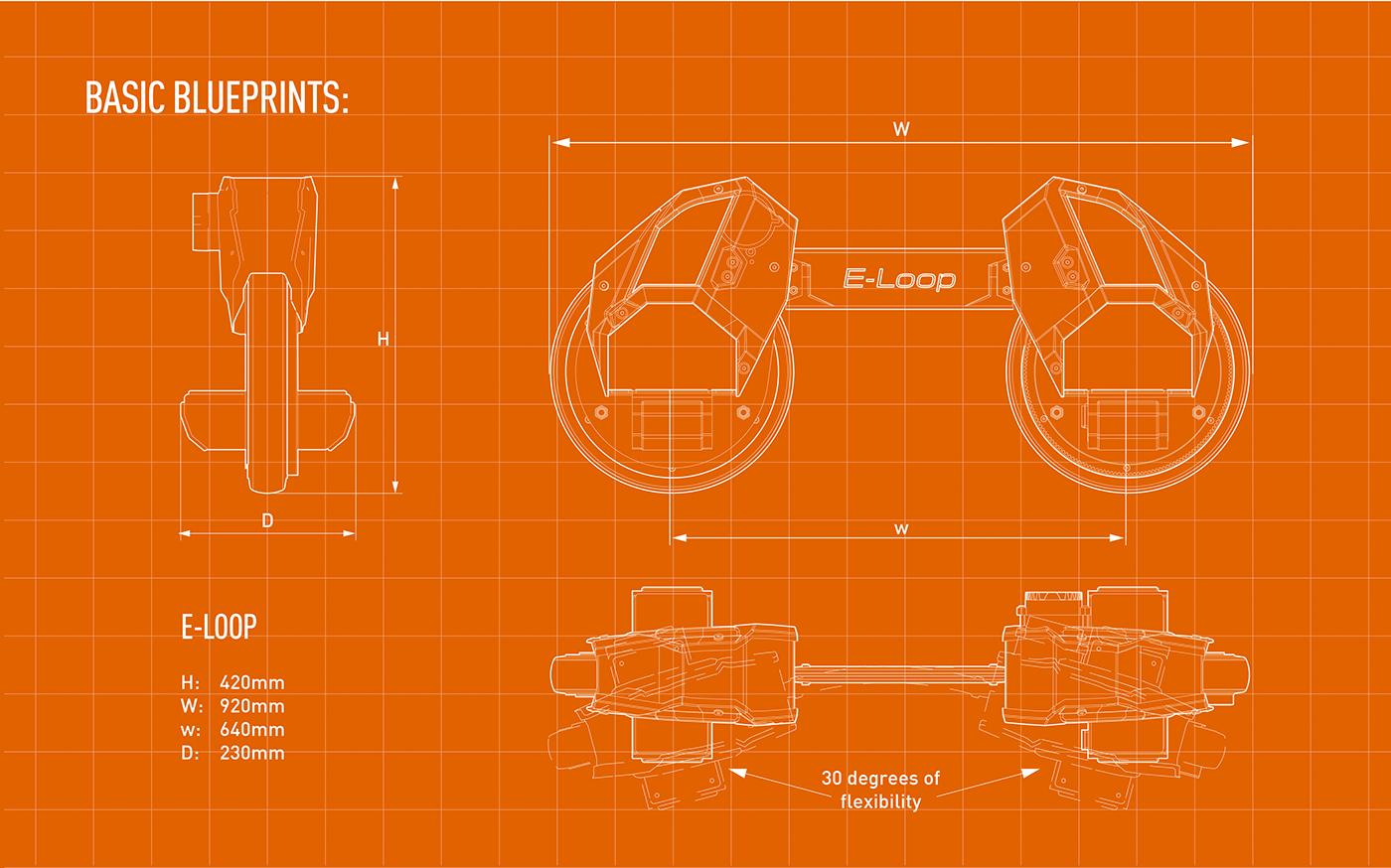 新奇E-loop电动车设计