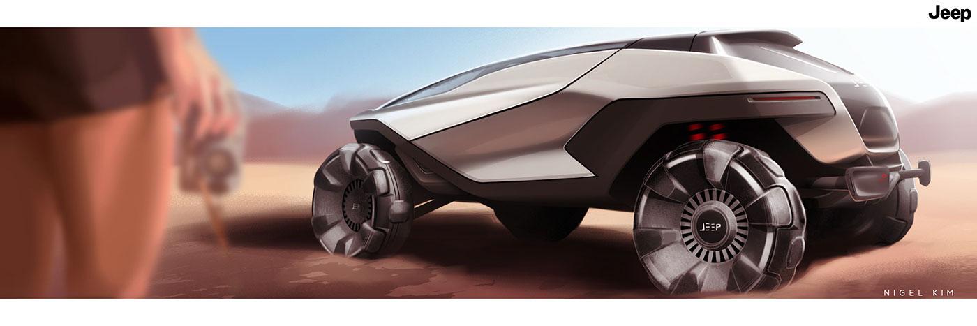 2035JEEP越路概念汽车设计