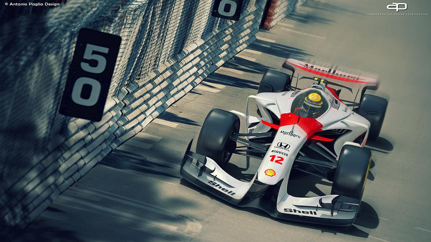 2025年F1赛车视觉概念设计