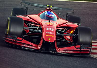 速度与激情,2025年F1赛车视觉概念设计