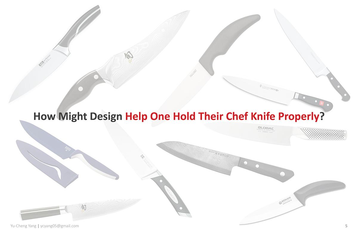 主厨使用首先实用厨刀设计