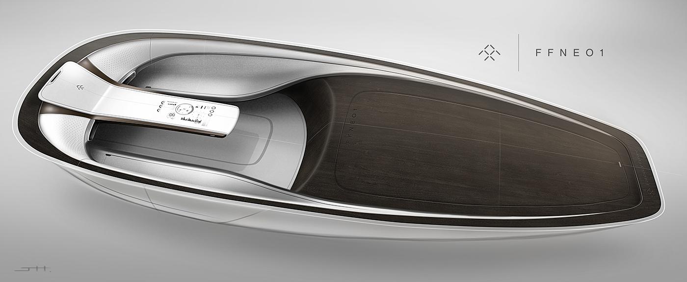 2040未来奢华快艇概念设计