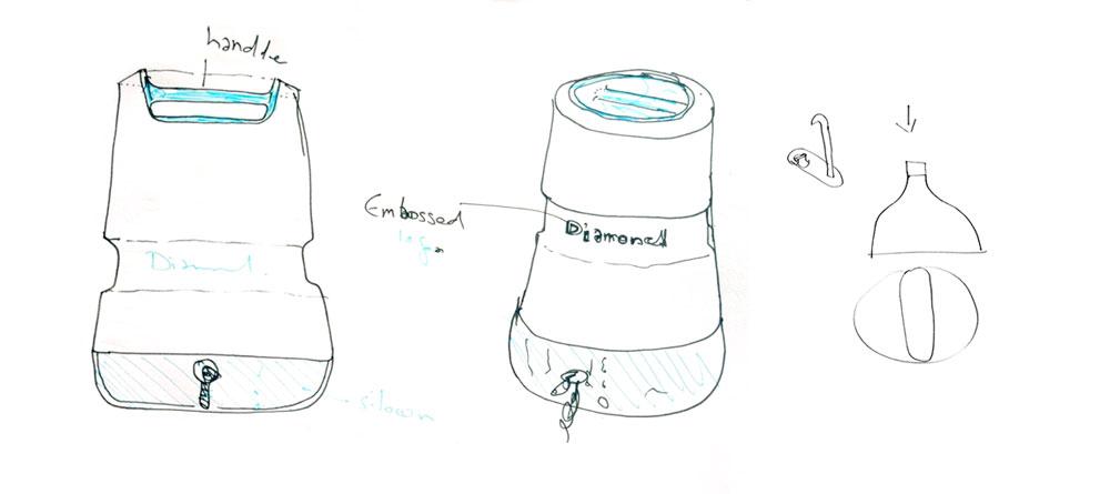 过滤器,水污染,技术,工业设计, 工业设计,产品设计,普象网