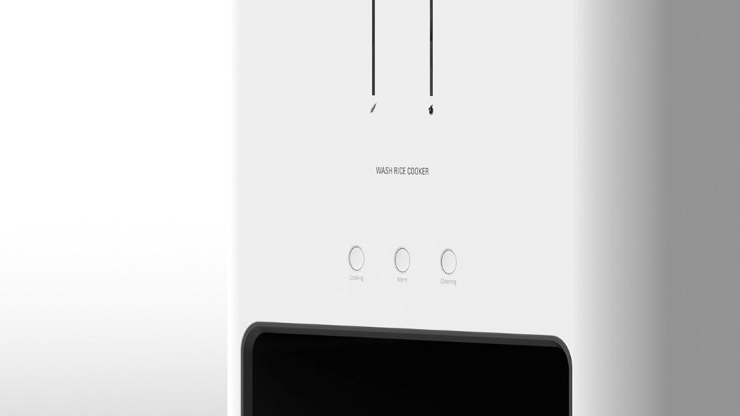 简约智能电饭煲设计