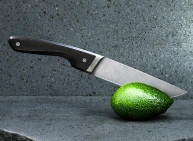 精美细致的主厨用刀设计