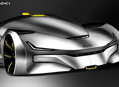 Cadrone概念汽车设计