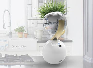 Ecosphere花盆创意设计