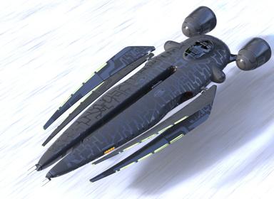 Yabeg超时空赛车概念设计