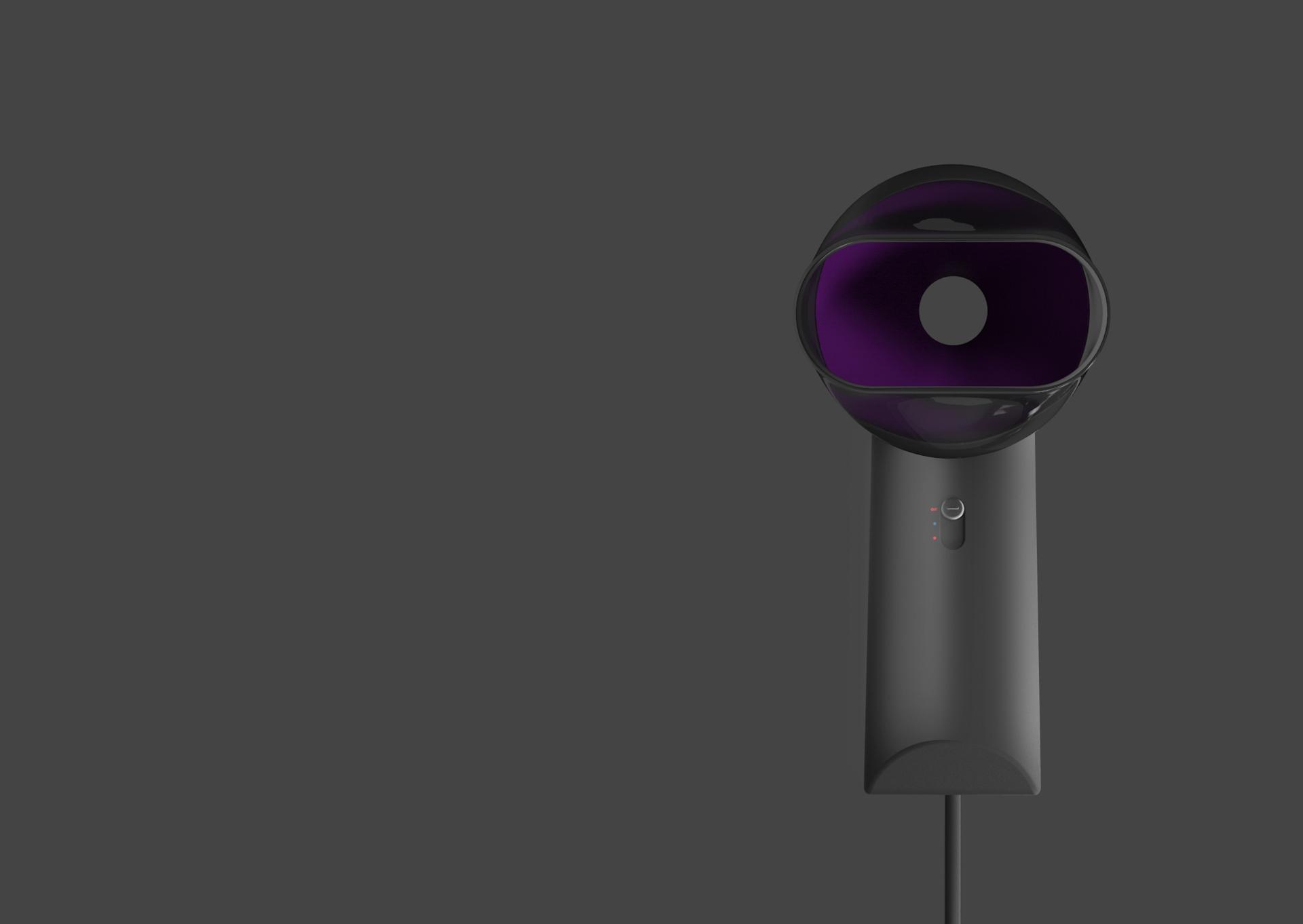 无叶电吹风概念设计