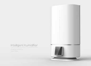 简洁大气空气净化器设计