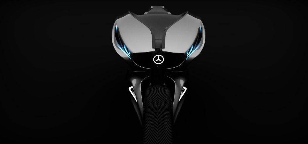 奔驰概念摩托车设计
