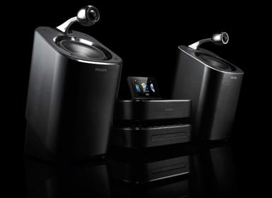 造型独特的飞利浦MCi900家庭音响