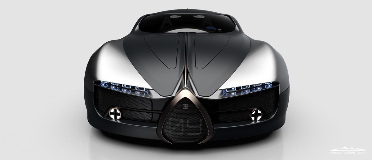 布加迪汽车概念设计