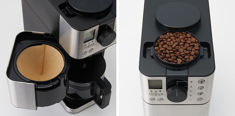 MUJI研磨滴滤一体咖啡机