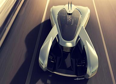 V系列超级电动跑车概念设计
