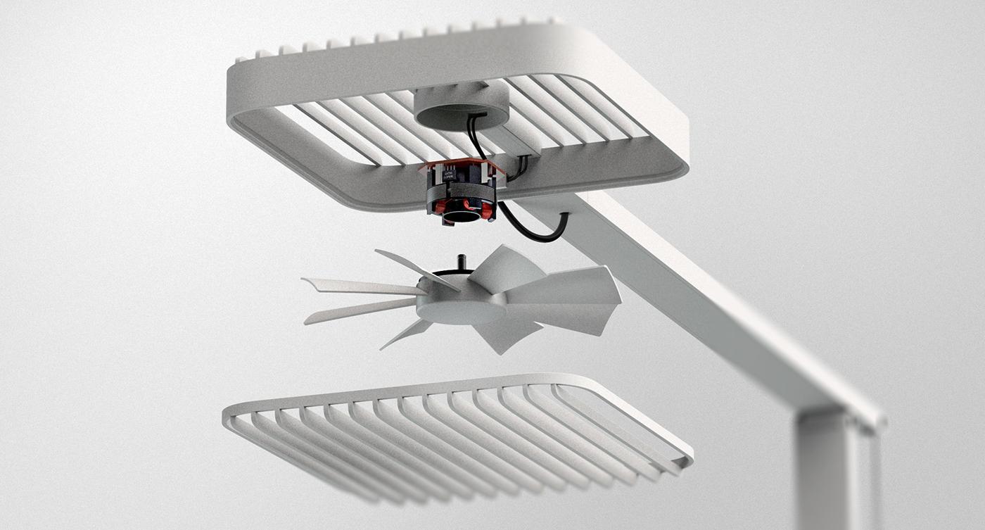 ramo电风扇设计