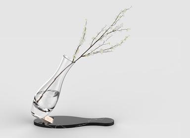 Falling pin创意花瓶