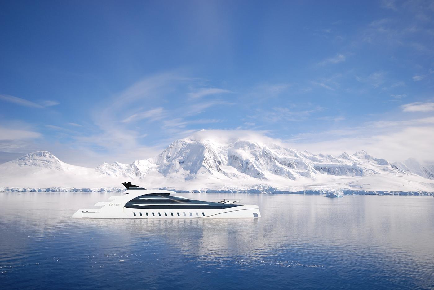 Evolute超级生态游艇概念设计