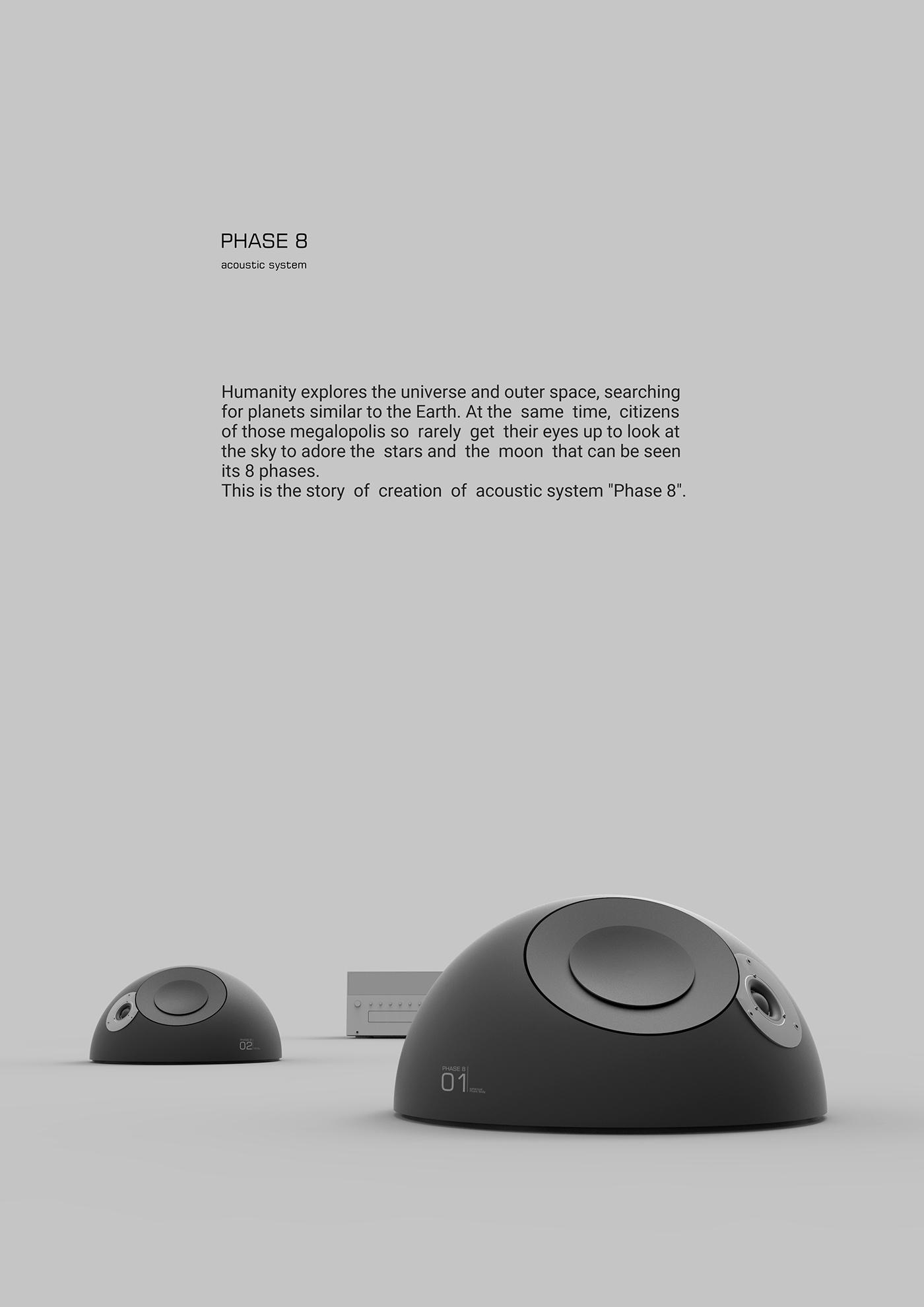 月球音响系统Phase 8