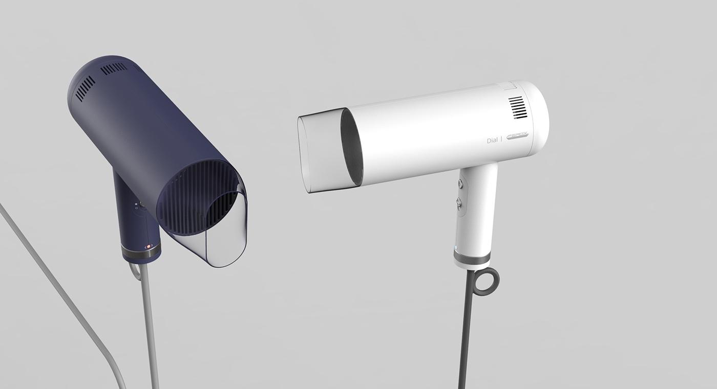 个性Dial电吹风机设计
