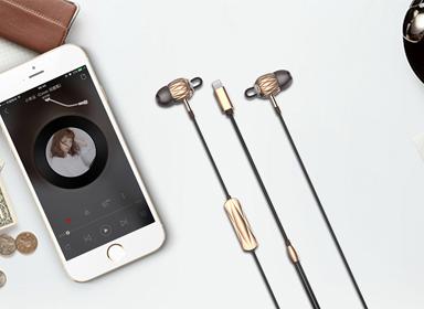可爱风香水耳机设计