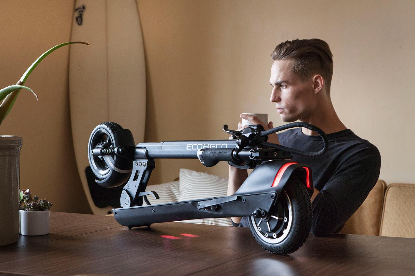 EcoReco智能电动滑板车设计