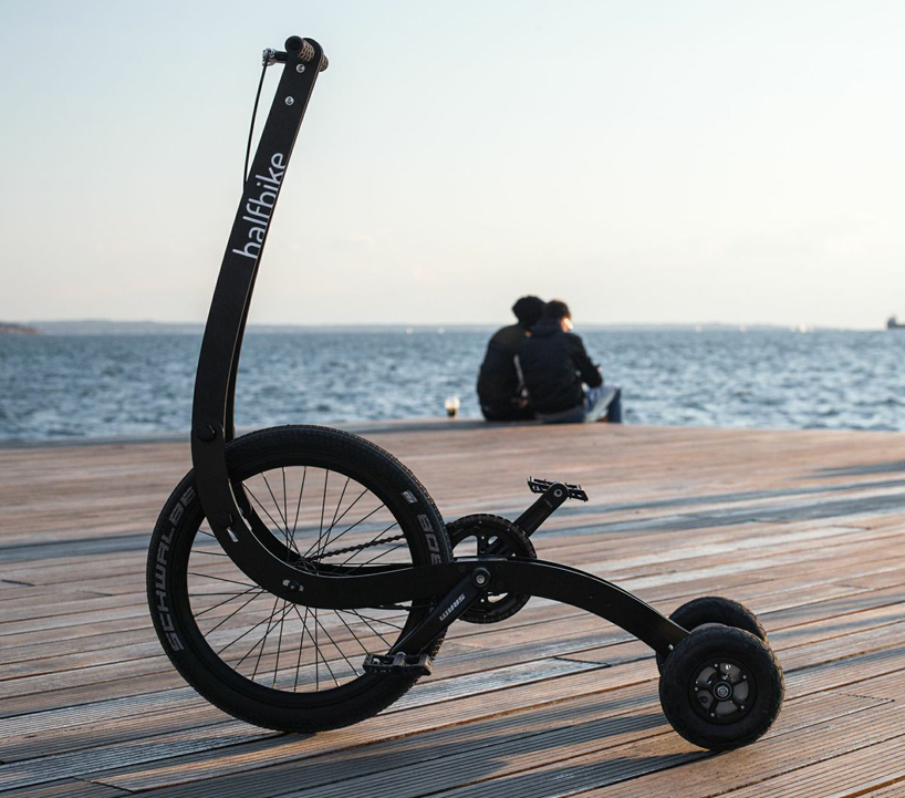 HalfbikeII站着骑的自行车设计