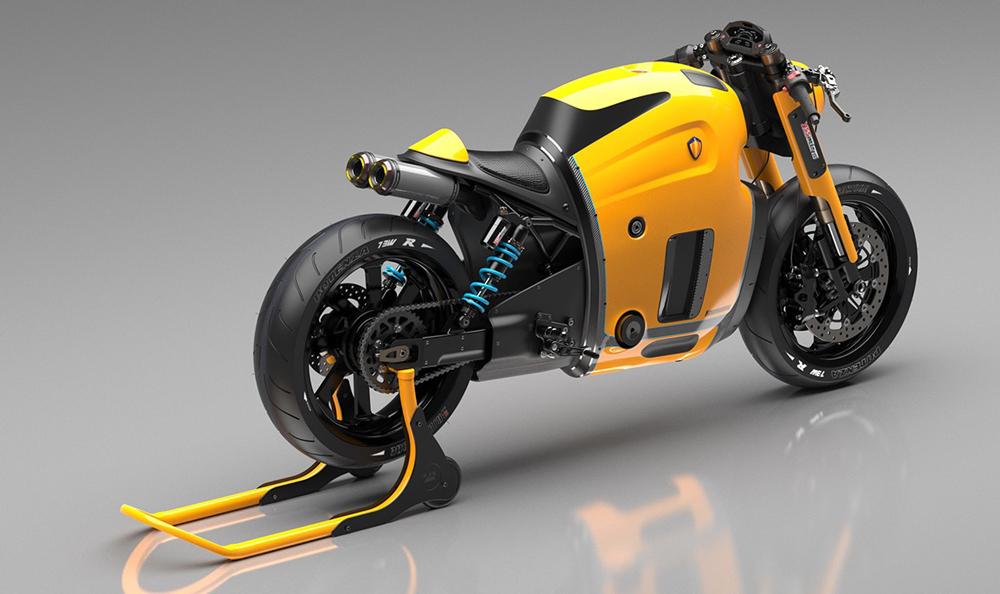 Koenigsegg概念摩托车设计