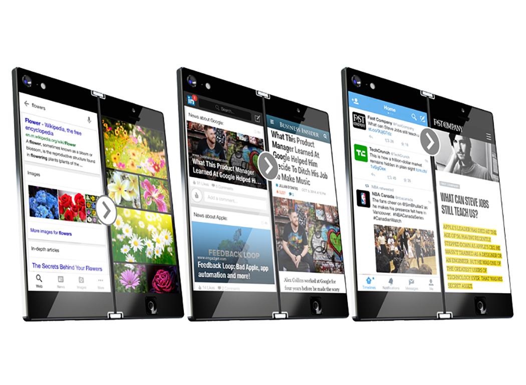 LUNARK智能双屏手机
