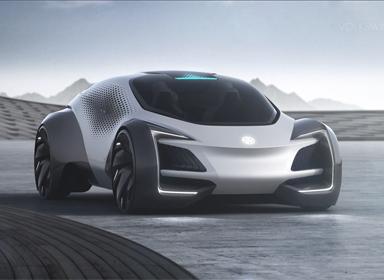 大众 Aero-B电动汽车设计